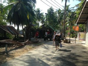 The village on Phra Thong's east coast