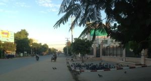 Early morning in Monywa