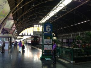 Hua Lampung train station