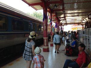 Arrival in Hua Hin